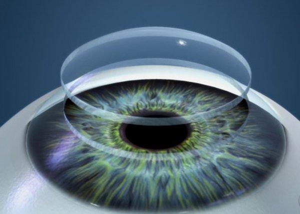 стандартная кривизна контактных линз