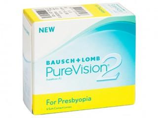 Мягкие контактные линзы Контактные линзы PureVision2 Multi-Focal - linza.com.ua