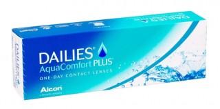 Мягкие контактные линзы Контактные линзы Dailies AquaComfort Plus - linza.com.ua