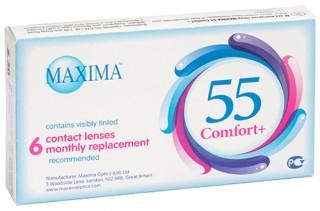 Мягкие контактные линзы Контактные линзы Maxima 55 Comfort Plus - linza.com.ua