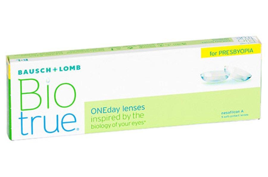 Мягкие контактные линзы Контактные линзы Biotrue ONEday for Presbyopia - linza.com.ua