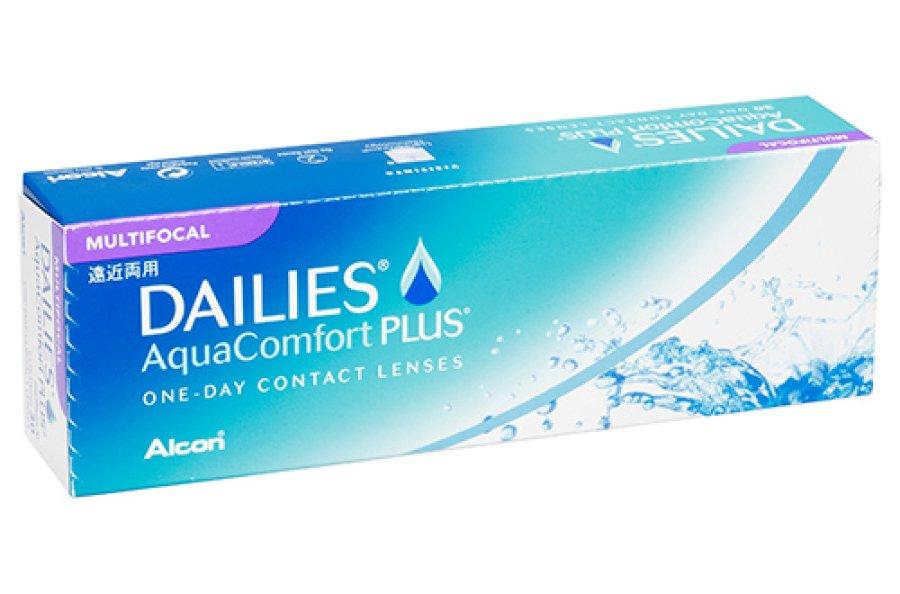 Мягкие контактные линзы Контактні лінзи Dailies Aqua Multifocal - linza.com.ua