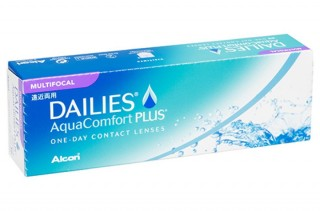 Мягкие контактные линзы Контактные линзы Dailies Aqua Multifocal - linza.com.ua