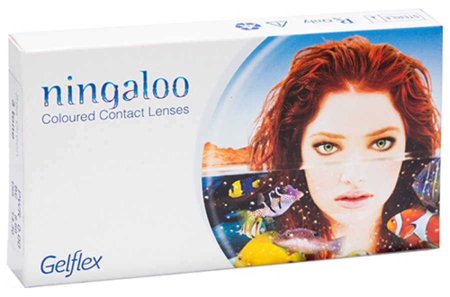 Мягкие контактные линзы Цветные контактные линзы Ningaloo - linza.com.ua