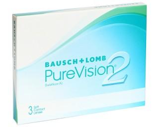 Мягкие контактные линзы Контактные линзы PureVision2 - linza.com.ua