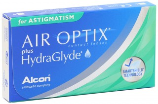 Контактні лінзи Air Optix plus HydraGlyde for Astigmatism - linza.com.ua
