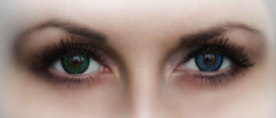 Як підібрати кольорові лінзи для зелених очей - linza.com.ua