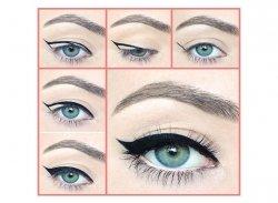 Контактные линзы и макияж - linza.com.ua