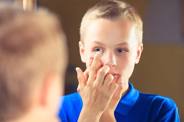 С какого возраста можно носить контактные линзы - linza.com.ua