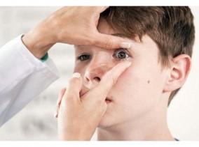 Как надеть контактные линзы ребенку - linza.com.ua