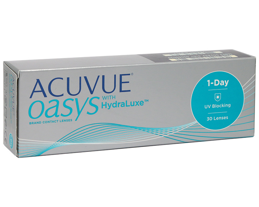 Новинка – Acuvue Oasys with HydraLuxe - linza.com.ua