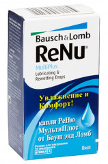 Капли для глаз ReNu MultiPlus Lubricating & Rewetting drops - linza.com.ua