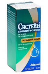 Капли для глаз Капли для увлажнения глаз Systane Gel Drops 3 ml - linza.com.ua