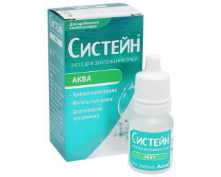 Капли для глаз Капли для увлажнения глаз Systane Aqua 3 ml - linza.com.ua