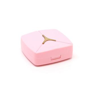 Дорожные наборы Розовый дорожный набор для линз KAIDA К 1613 - linza.com.ua
